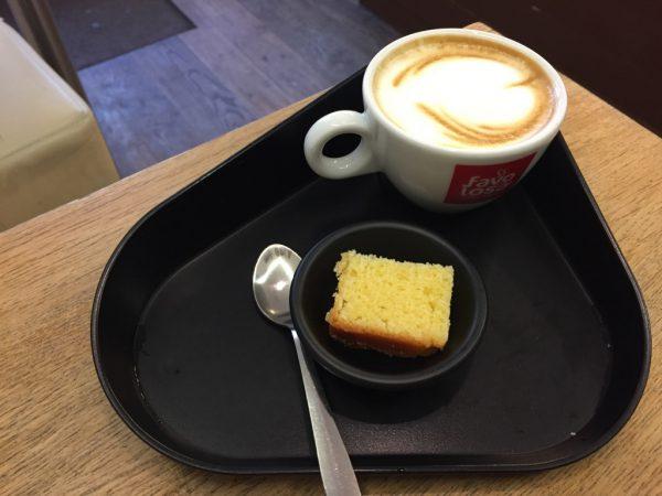 Koffie drinken bij Favolosa Groningen