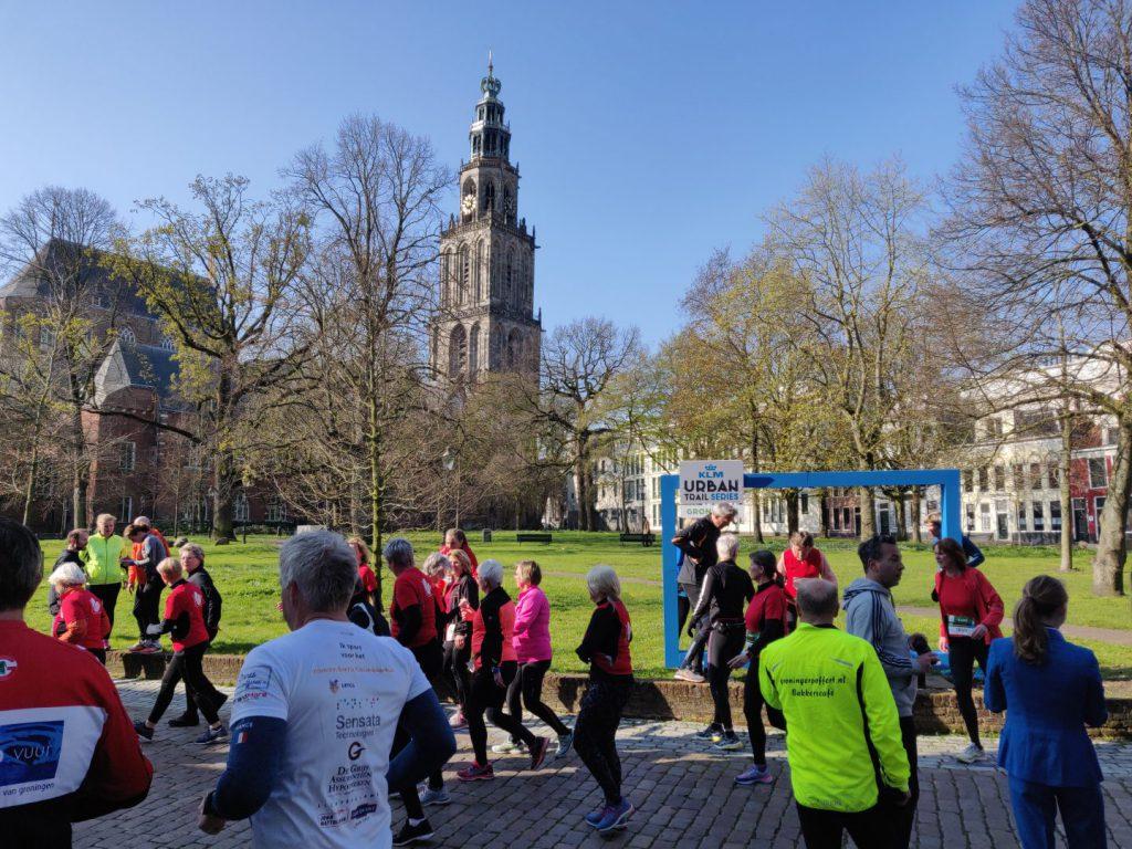 KLM Urban Trail: ontdek Groningen op je hardloopschoenen