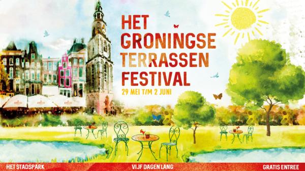Nieuw evenement in Groningen: Het Groningse Terrassen Festival in Stadspark tijdens Hemelvaart