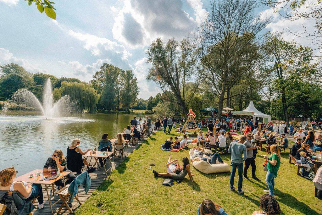 Het Groningse Terrassen Festival tijdens Hemelvaart