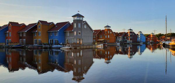 Rondvaart Groningen met fotograaf: dagje uit en fotografie cursus. Foto Reitdiep van Jannes 16062019