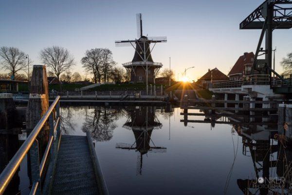 Fietsen in Groningen met fotografie cursus: foto Garnwerd Melvin Jonker