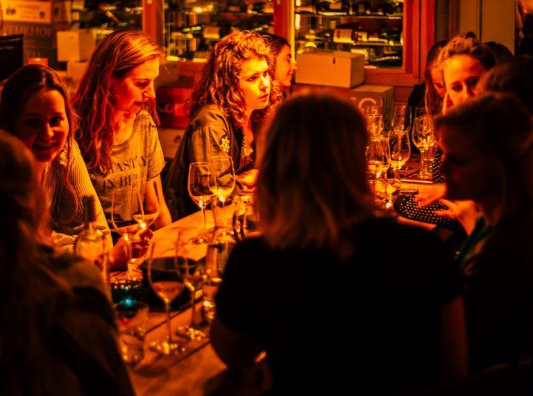 Wijn en spijs tour Groningen DIY