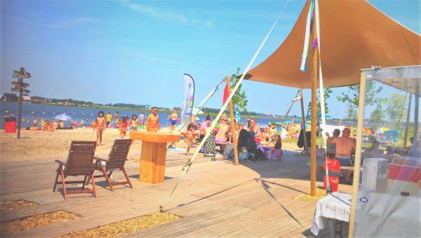 Strand Groningen: Meerstad- Foto van Facebookpagina Strand Meeroevers