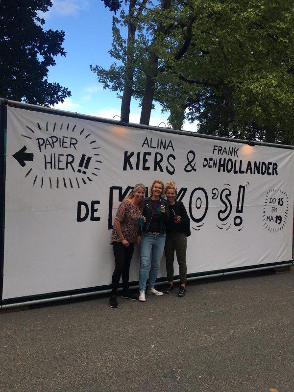 Noorderzon Groningen: festival in Noorderplantsoen - containervoorstelling Karen 2019