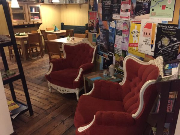 Boekhandel Riemer Groningen - koffiehoek