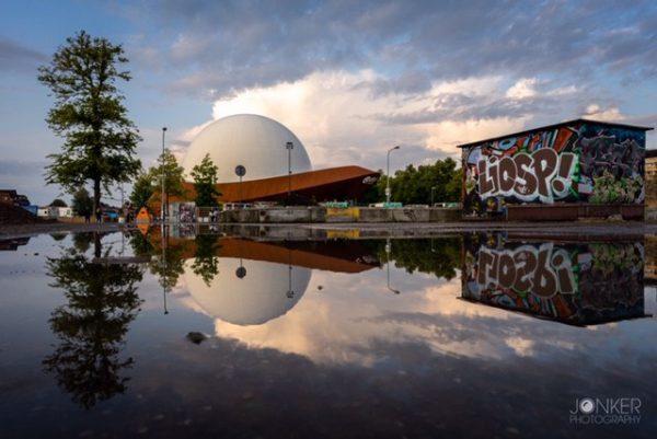 Fotografie cursus Groningen tijdens fototour I Go Groningen- DOT licht door Melvin