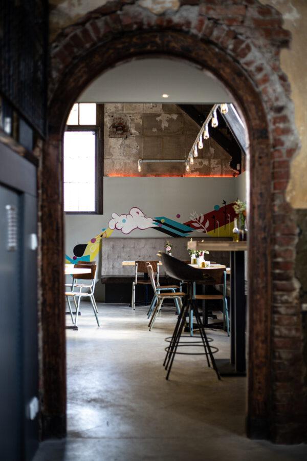Uit eten in bijzonder restaurant Groningen. Foto Florentin