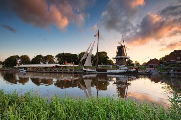 Fietsroute Groningen Garnwerd -foto Marketing Groningen