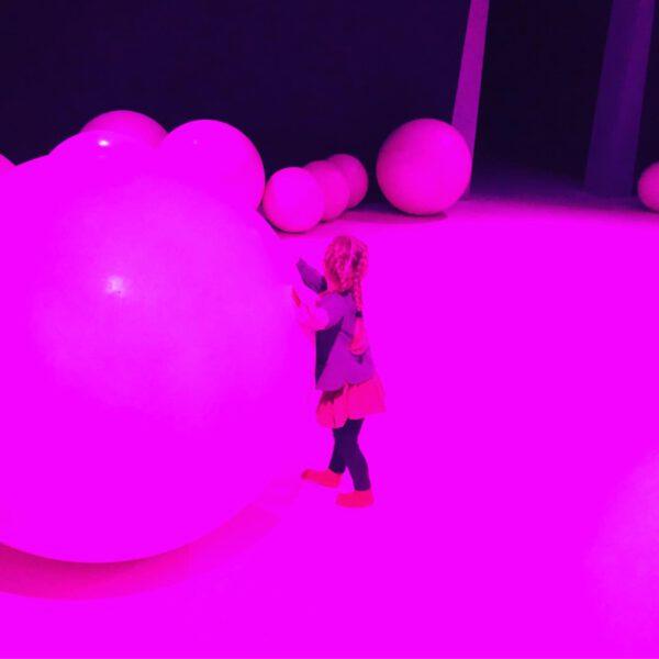 Groninger Museum, leuk museum in Groningen voor een dagje uit met kind - Daan Roosegaarde's 'Presence'