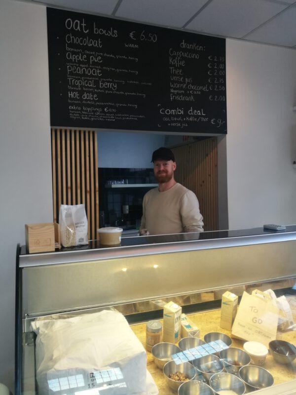 Ontbijten in Groningen? Havermoutbar Bij de Sluis, lekker veganistisch en vegetarisch