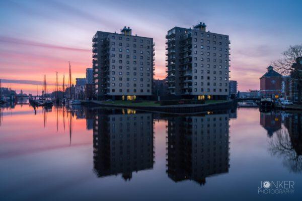 Fotografie cursus Groningen - fietstocht architectuur