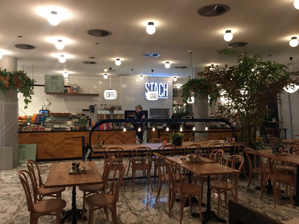 STACH: koffie hotspot in Forum Groningen