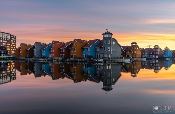 Fotografie cursus Groningen - fietstocht architectuur Reitdiep haven
