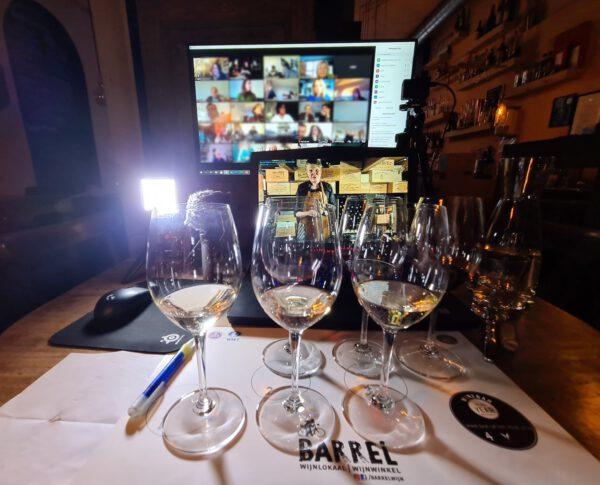 Online Wijnproeverij Barrel Wijnlokaal Groningen - foto Facebook Barrel