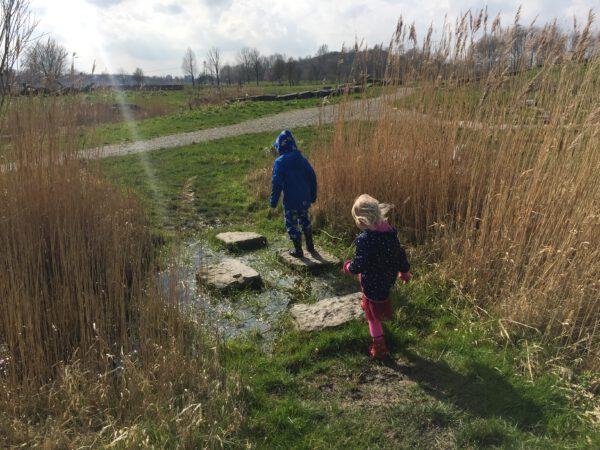 Natuurspeeltuin in natuurgebied OERR Kardinge Groningen