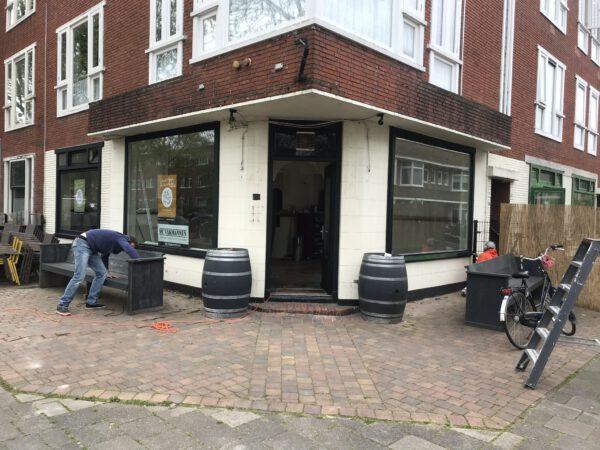 Nieuw restaurant Groningen: Dinercafé Plezant in Korrewegwijk met terras