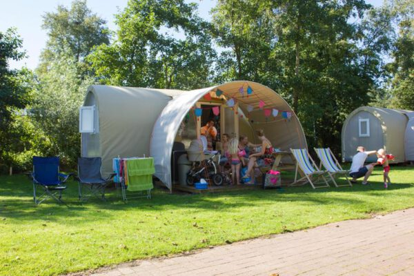 Camping Groningen tip: Landgoedcamping Nienoord in Leek - foto Facebookpagina camping