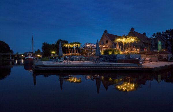 Camping nabij Groningen: Camping Marenland aan water in Winsum - foto Facebook camping