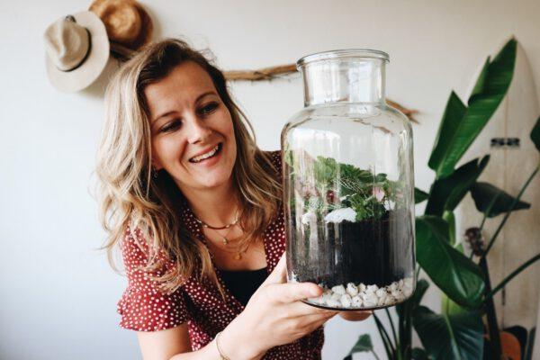 zelf mini ecosysteem maken? DIY pakket kopen bij De Opfleurist uit Groningen