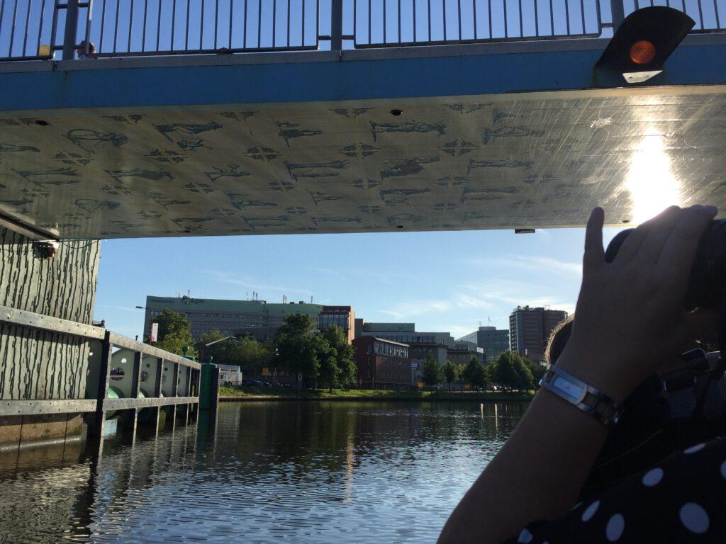3 x Verborgen kunst onder de Groninger bruggen