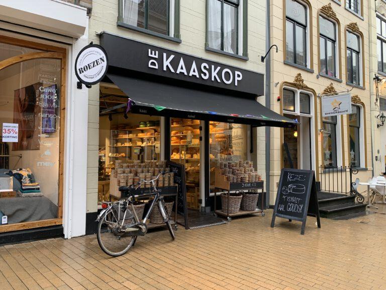 4 x kaaswinkels in Groningen