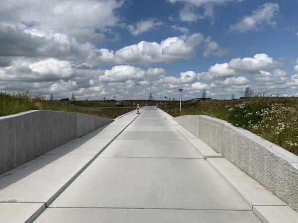 Park Meerstad - betonpad