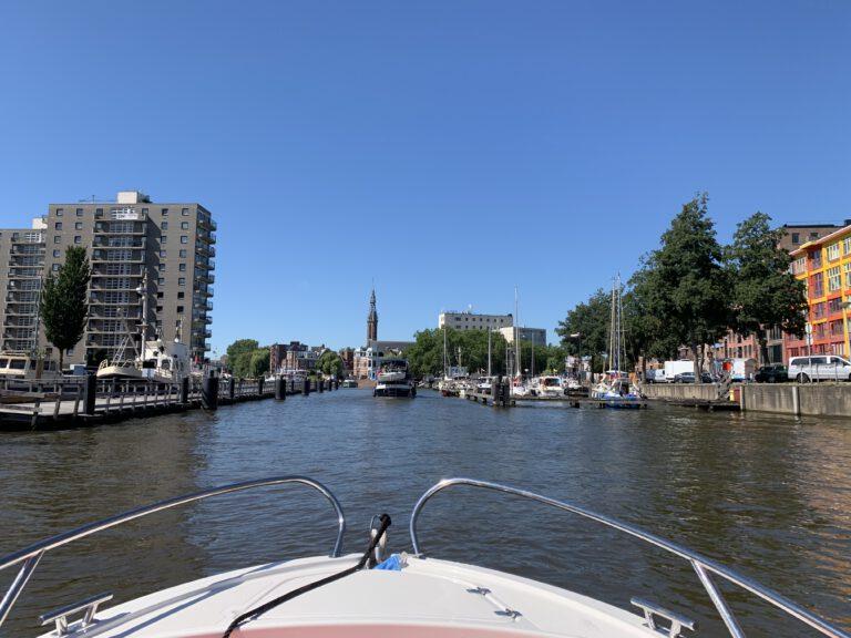 4 x de leukste vaarroutes in en rondom Groningen
