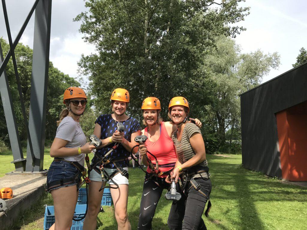 Klimpark Break Out Grunopark: buitenspelen op grote hoogte