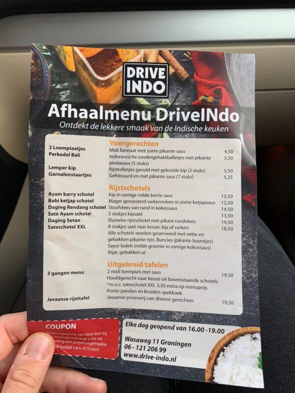 Indonesisch afhaal Groningen van Javaans eetcafe Groningen: Indo drive-in