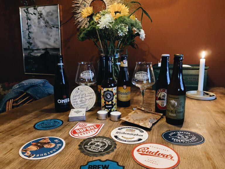 Bier bestellen bij Café de Koffer Groningen