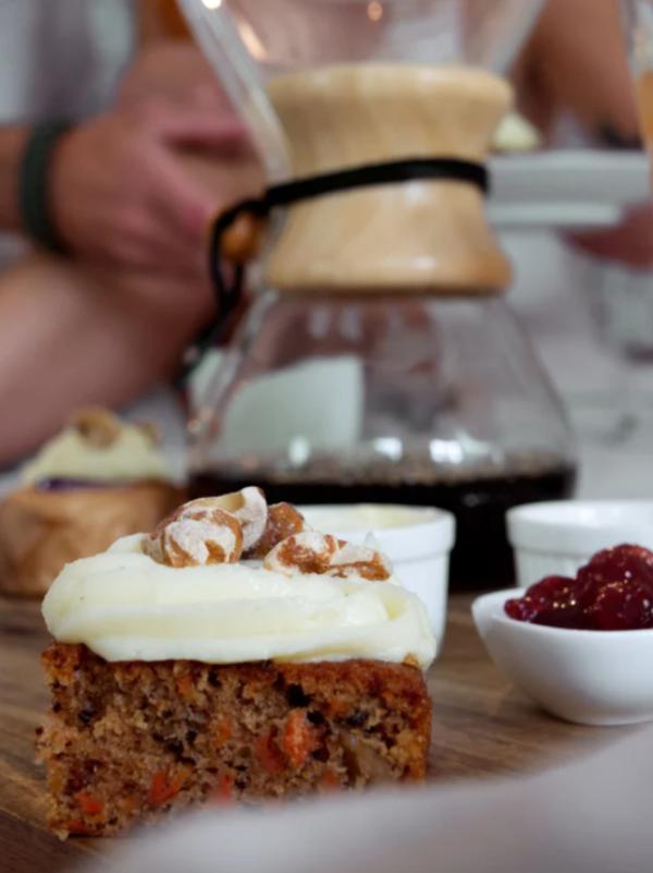 Ontbijt bezorgen Groningen: foto van ontbijtservice P.S. koffie, thee & taart