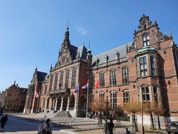 Academiegebouw Groningen op het Broerplein