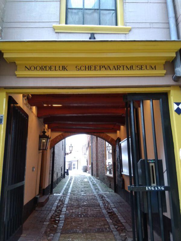 Noordelijk scheepvaart museum Groningen