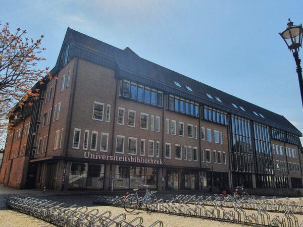 UB Groningen: de Universiteitsbibliotheek op het Broerplein