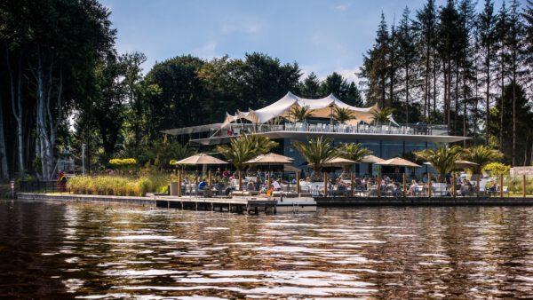 Terras Groningen reserveren, aan het water bij Paviljoen van de Dame - foto van Facebookpagina @paviljoenvandedame