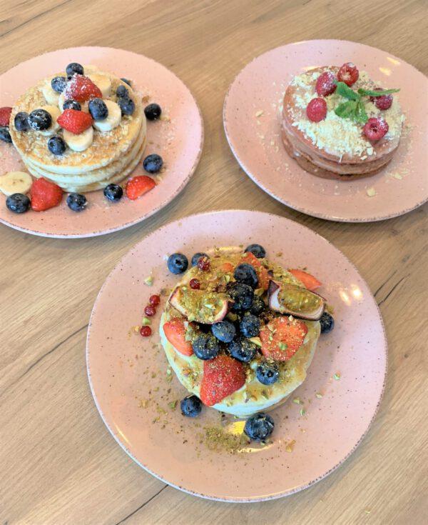 Pannenkoeken Groningen: pancakes van Blue Bananas Pancake Cafe