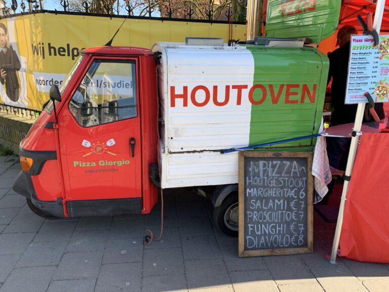 Giorgio Pizza: overheerlijke pizza uit de kleinste houtoven van Groningen