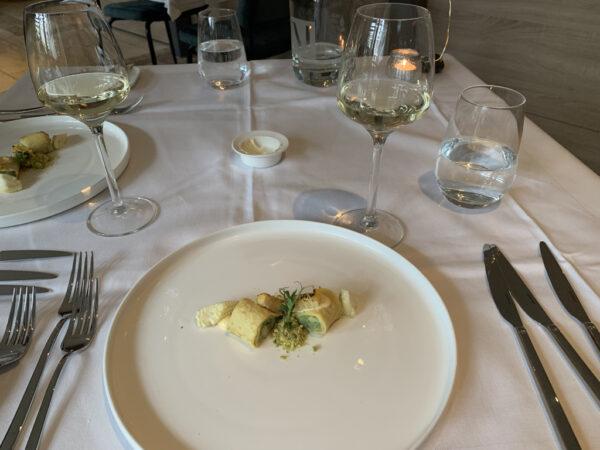 Uit eten bij Restaurant M Groningen - gang 1